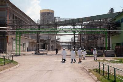 Посещение на завода Elixir Prahovo